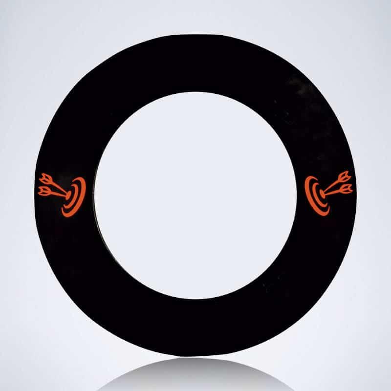Auffangring / Surround / Catchring für Dartscheibe in schwarz
