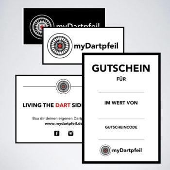 Dart Aufnäher, Dart Sticker und Dart Gutschein für Dart Vereine