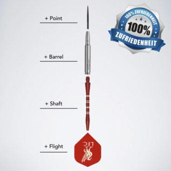 Dartpfeile selber designen mit Darts Konfigurator für Steeldarts