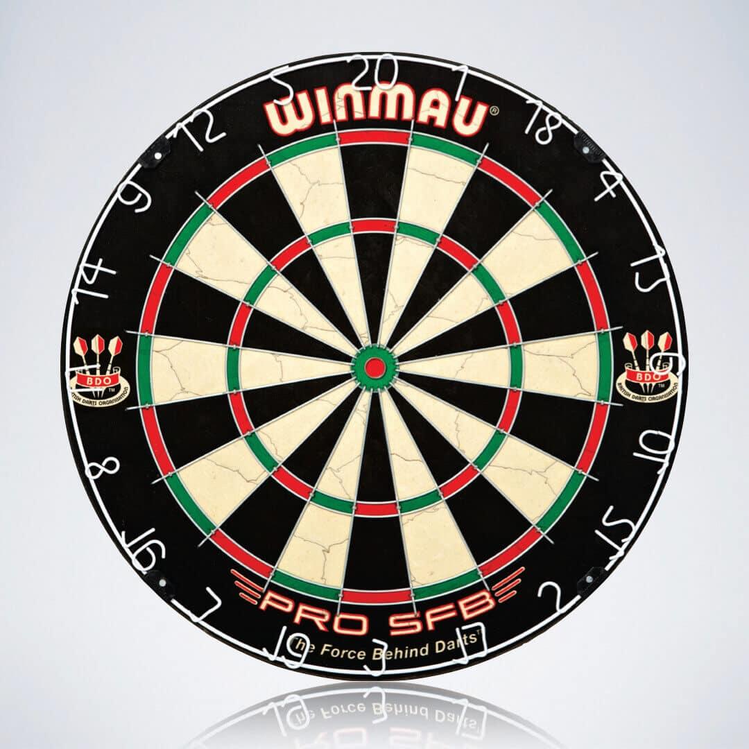 Steeldartscheibe Winmau PRO SFB für Darts Anfänger