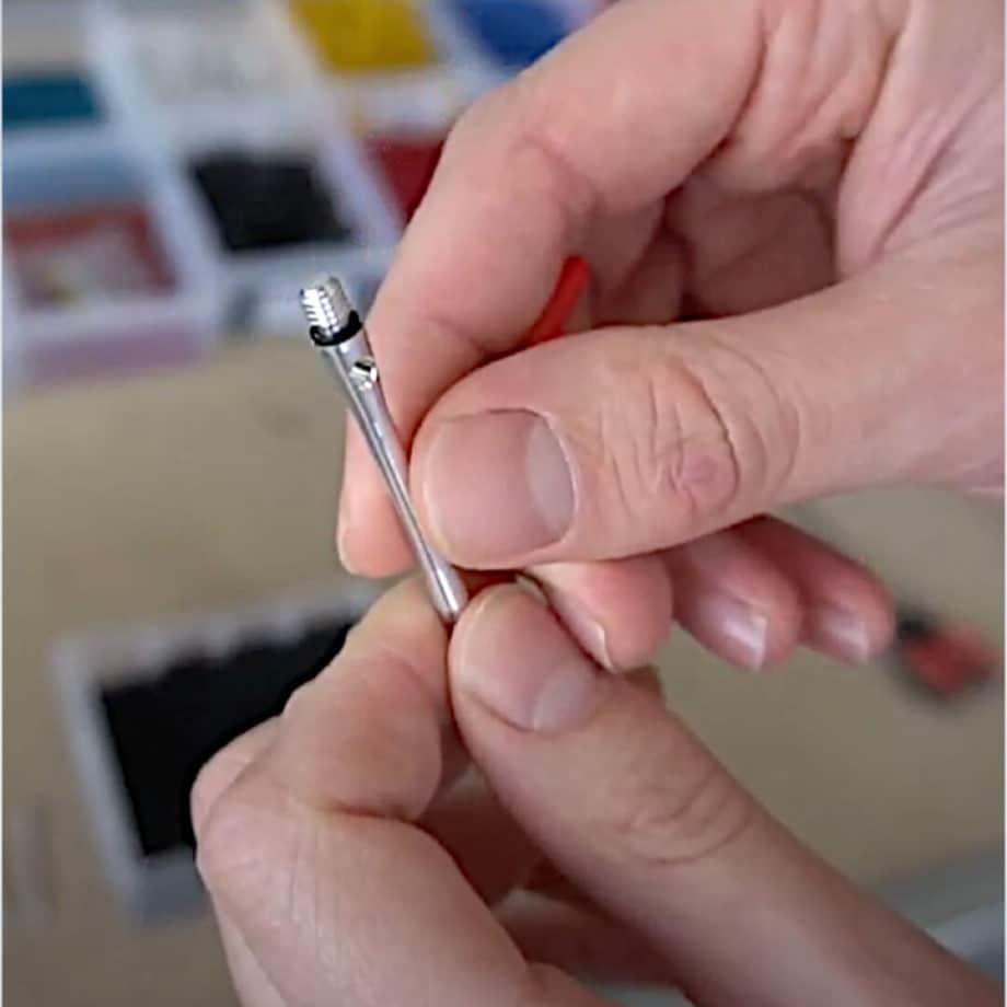 Mission O-Ring Applicator inkl 12 Gummiringe Dart Schaftringe Shaft