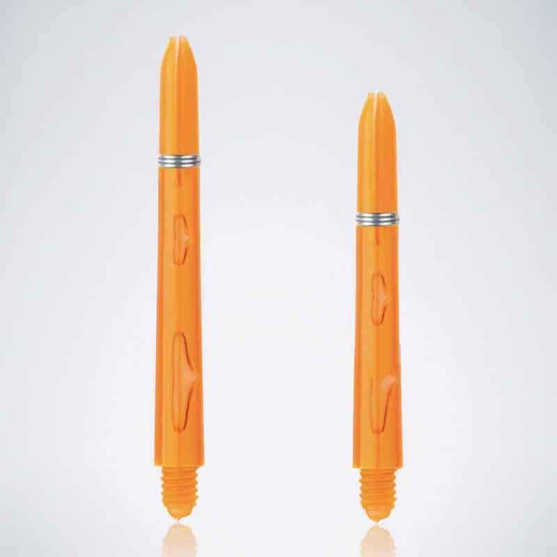 Bubble Orange M-S Nylon Schäfte für Dartpfeile