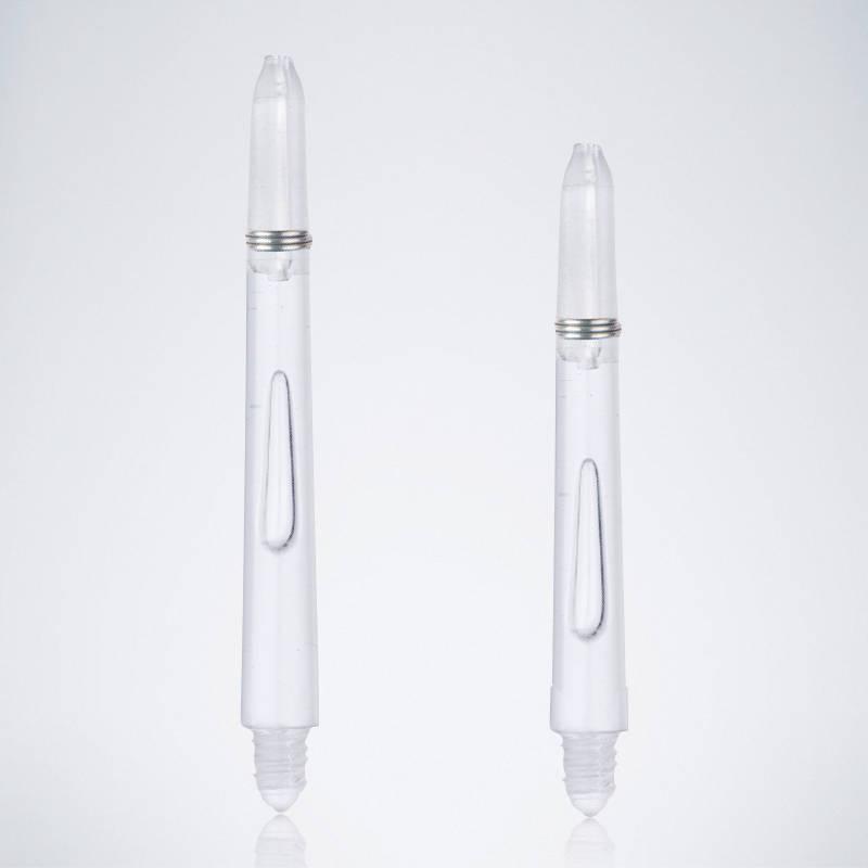 Bubble White M-S Nylon Schäfte für Dartpfeile