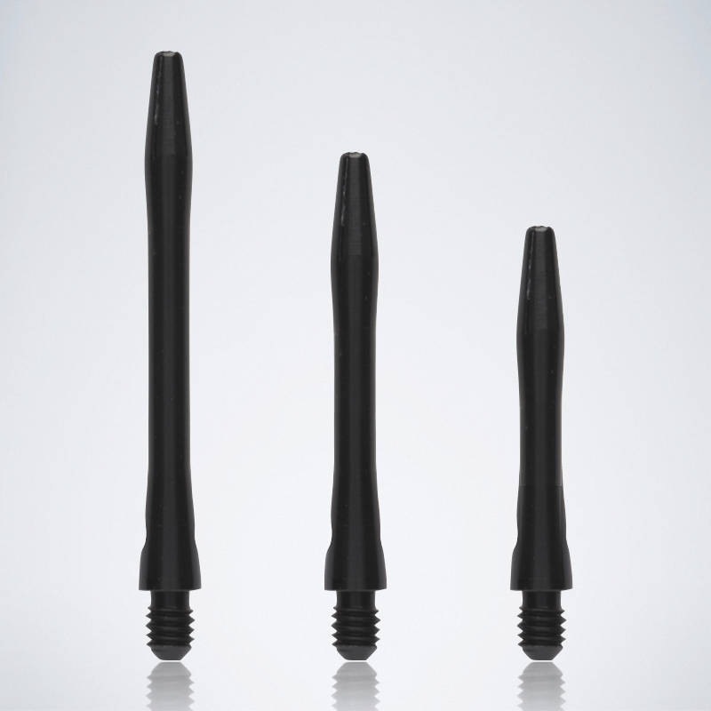 Classic Black M-S-XS Aluminium Schäfte für Dartpfeile