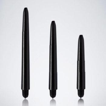 Classic Black M-S-XS Nylon Schäfte für Dartpfeile
