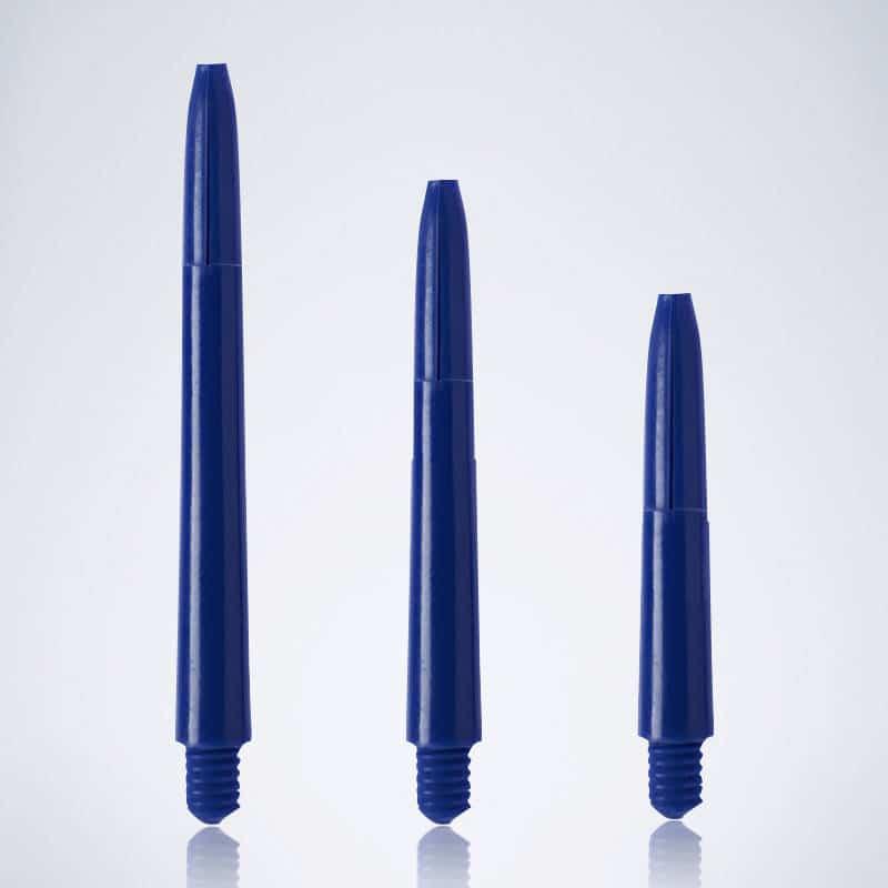 Classic Blue M-S-XS Nylon Schäfte für Dartpfeile