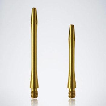 Classic Gold M-S Aluminium Schäfte für Dartpfeile