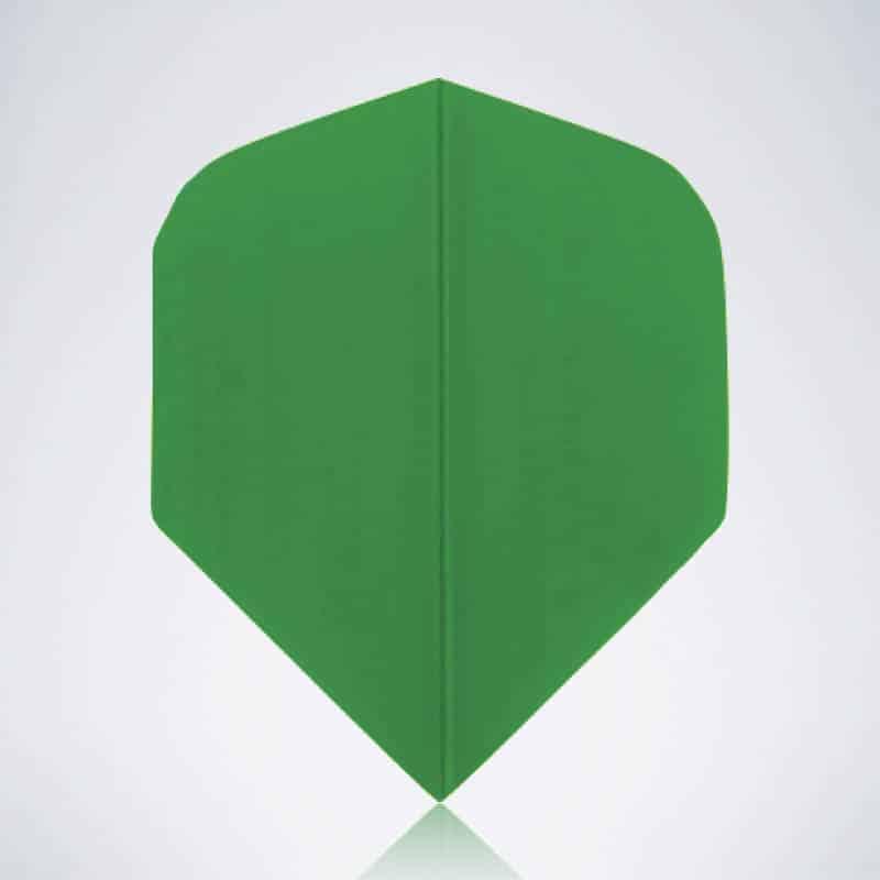 Classic Green Standard Flight aus Kunststoff für Dartpfeile