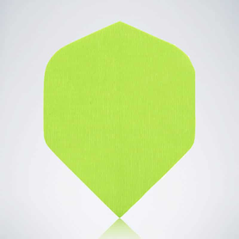 Classic Neon Green Standard Flight aus Kunststoff für Dartpfeile