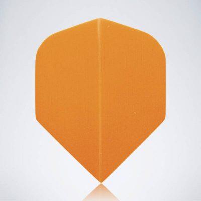 Classic Orange Standard Flight aus Kunststoff für Dartpfeile