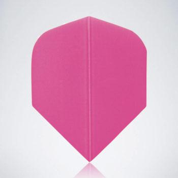 Classic Pink Standard Flight aus Kunststoff für Dartpfeile