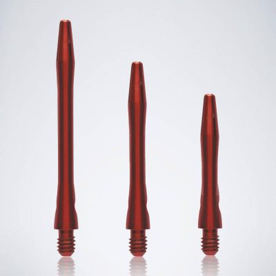 Classic Red M-S-XS Aluminium Schäfte für Dartpfeile