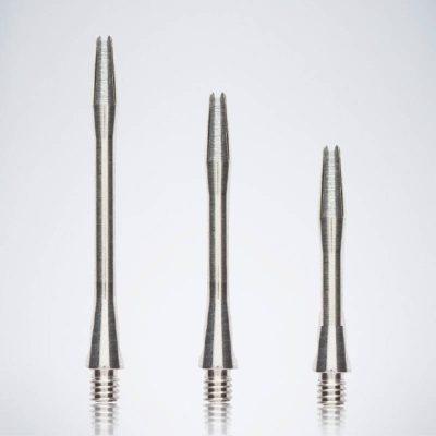 Classic Silver M-S-XS Aluminium Schäfte für Dartpfeile