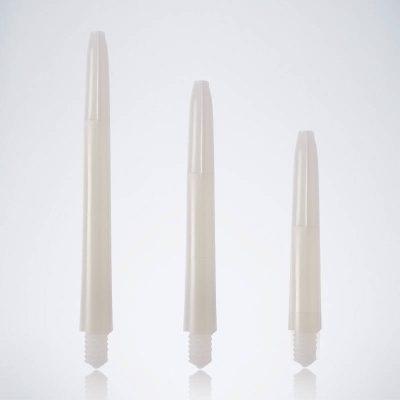 Classic White M-S-XS Nylon Schäfte für Dartpfeile