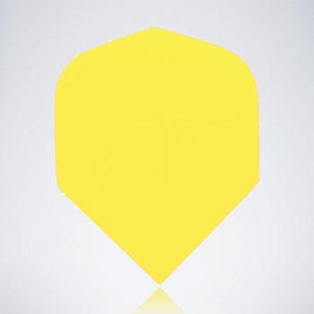 Classic Yellow Standard Flight aus Kunststoff für Dartpfeile