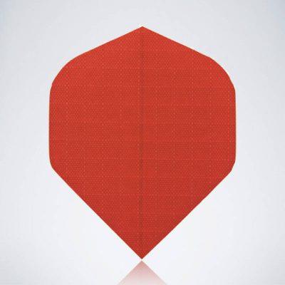 Deep Red Standard Flight aus Kunststoff für Dartpfeile