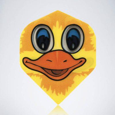 Donald Duck Standard Flight aus Kunststoff für Dartpfeile