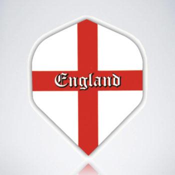 England Header Standard Flight aus Kunststoff für Dartpfeile