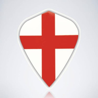 England Kite Type 1 Flight aus Kunststoff für Dartpfeile
