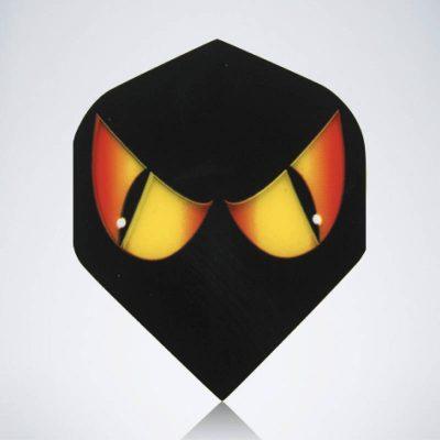 Evil Eyes Standard Flight aus Kunststoff für Dartpfeile