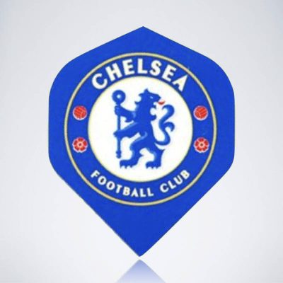 FC Chelsea Standard Flight aus Kunststoff für Dartpfeile