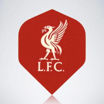 FC Liverpool Standard Flight aus Kunststoff für Dartpfeile