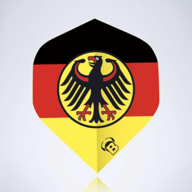 Germany Standard Flight aus Kunststoff für Dartpfeile