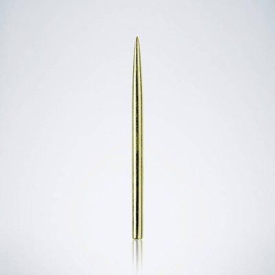 Glatte Goldene Titanium Stahlspitze für Dartpfeile