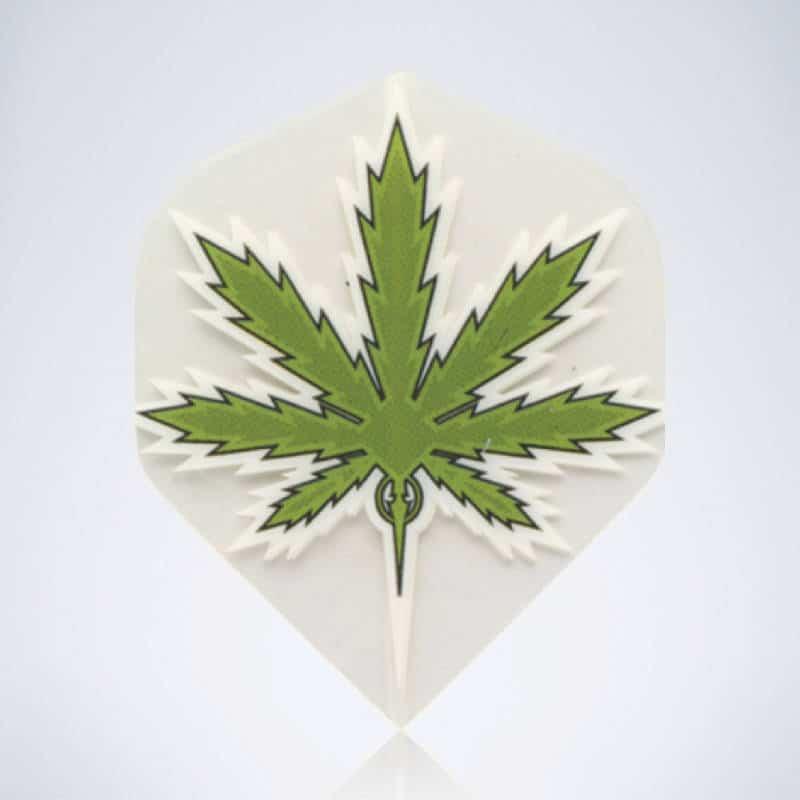 Green Stoner Standard Flight aus Kunststoff für Dartpfeile