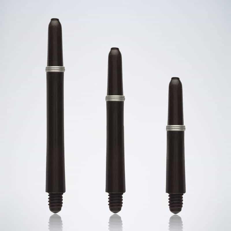 Grip Black M-S-XS Nylon Schäfte für Dartpfeile