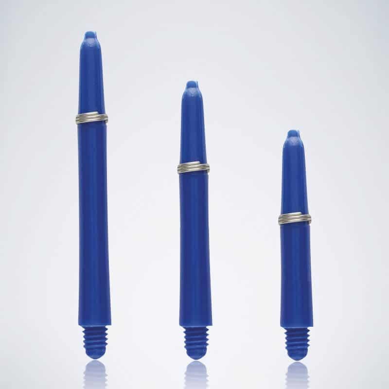 Grip Blue M-S-XS Nylon Schäfte für Dartpfeile
