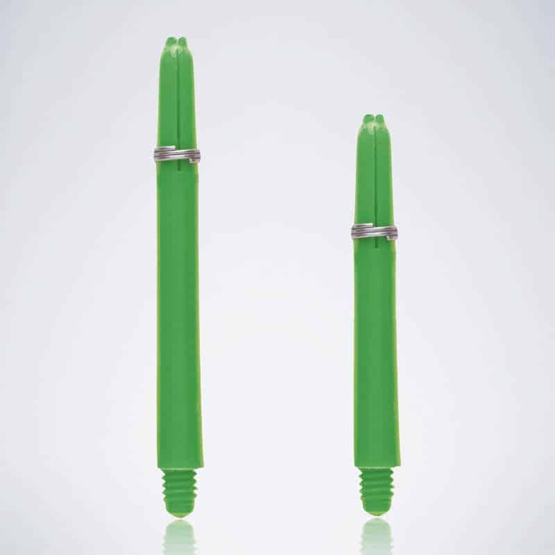 Grip Green M-S Nylon Schäfte für Dartpfeile