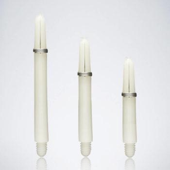Grip White M-S-XS Nylon Schäfte für Dartpfeile