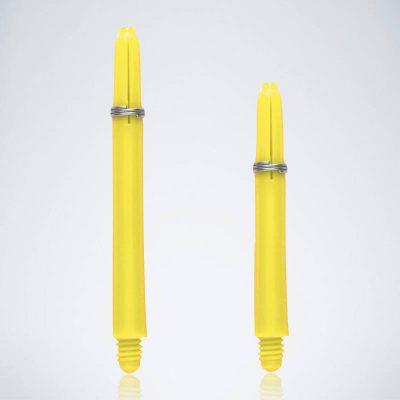 Grip Yellow M-S Nylon Schäfte für Dartpfeile