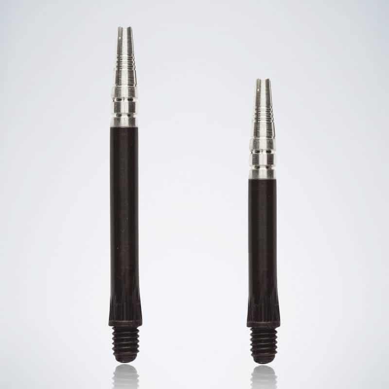 Hybrid Black M-S Nylon Schäfte für Dartpfeile