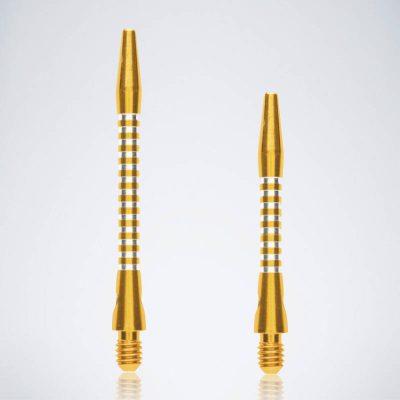 Jailbird Gold M-S Aluminium Schäfte für Dartpfeile