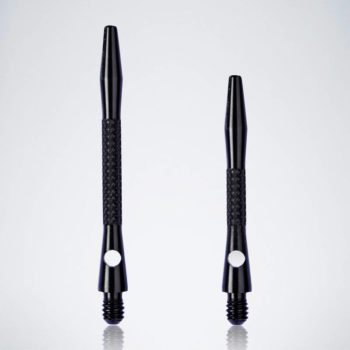 Knurled Black M-S Aluminium Schäfte für Dartpfeile