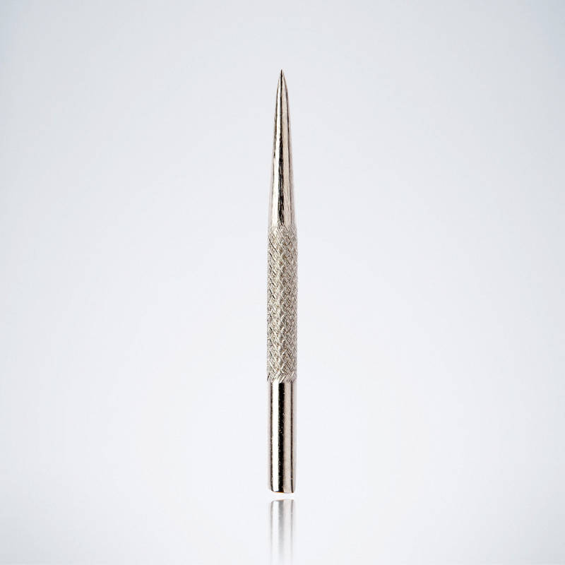 Knurled Silberne Stahlspitze für Dartpfeile