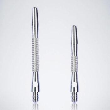 Knurled Silver M-S Aluminium Schäfte für Dartpfeile