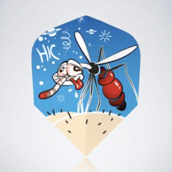 Moskito Standard Flight aus Kunststoff für Dartpfeile