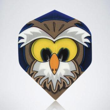 Night Owl Standard Flight aus Kunststoff für Dartpfeile