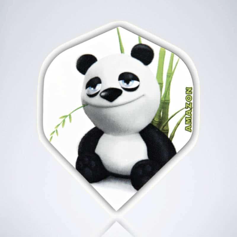 Panda Standard Flight aus Kunststoff für Dartpfeile
