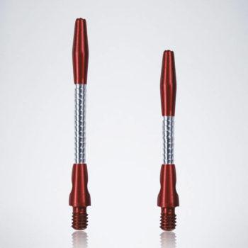 Razor Red-Silver M-S Aluminium Schäfte für Dartpfeile