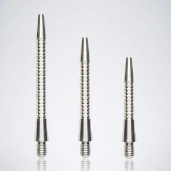 Razor Silver M-S-XS Aluminium Schäfte für Dartpfeile