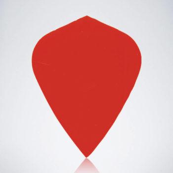 Roter Kite Type 1 Flight aus Kunststoff für Dartpfeile