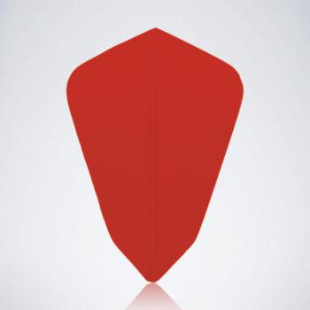 Roter Kite Type 2 Flight für Dartpfeile
