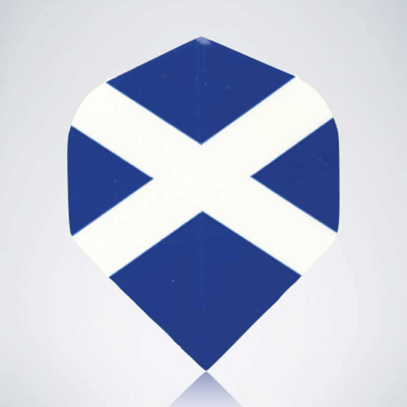 Scotland Standard Flight aus Kunststoff für Dartpfeile