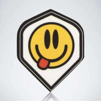 Smiley Standard Flight aus Kunststoff für Dartpfeile
