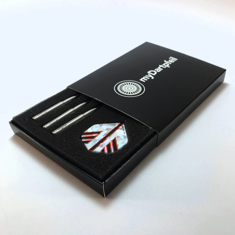 Darts Box mit Dartpfeilen