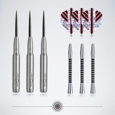 Steel Dart Zubehör mit Darts Flights und Schäfte sowie Barrels